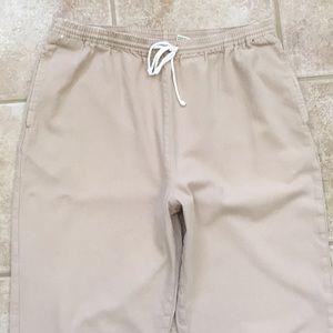 Orvis Casual Cotton Twill Pull-on Khaki Pants
